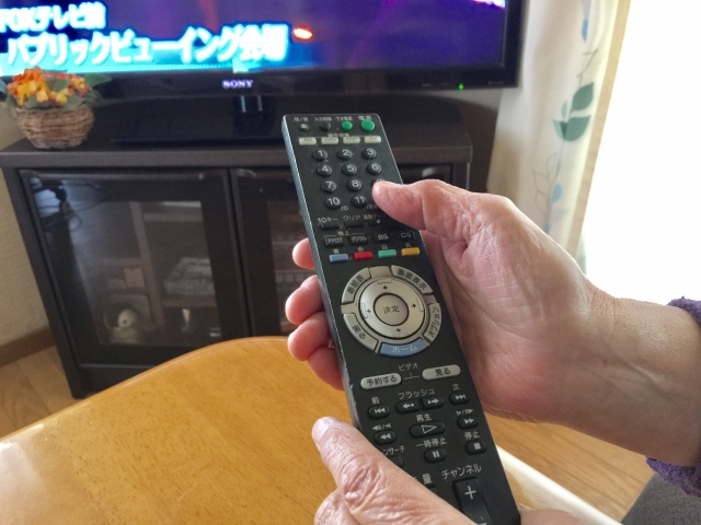 高齢者 テレビ漬け